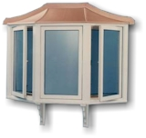 ABS Plastic Window Roofs - An Economical Alternative to Copper Window Roofs